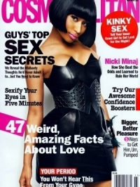 Nicki Minaj Covers Cosmopolitan November 2011