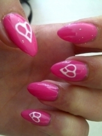 Simple Colorful Nail Art Ideas 2012