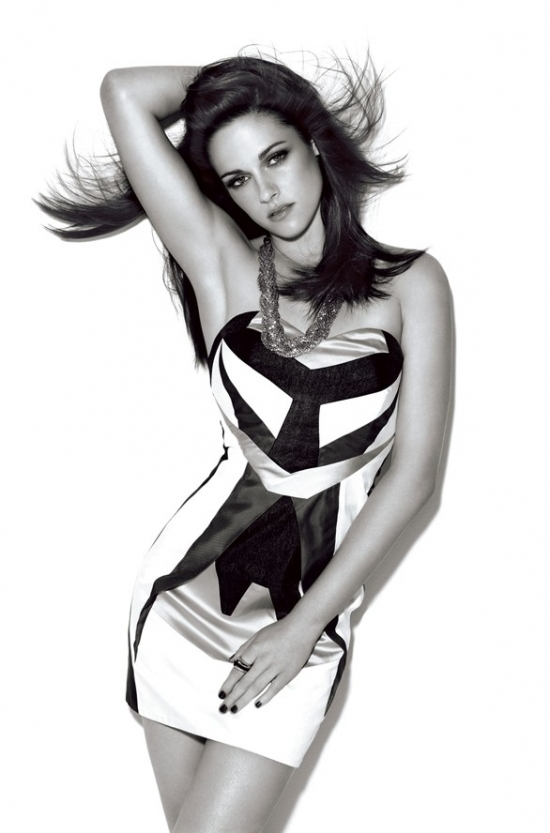 Kristen Stewart Covers Glamour UK December 2011