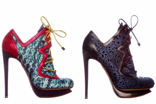 Nicholas Kirkwood Fall/Winter 2011-2012 Shoes