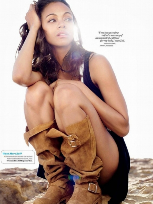 Zoe Saldana Covers Women