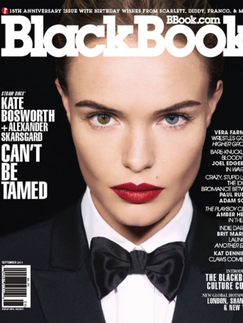 Kate Bosworth Covers BlackBook September 2011