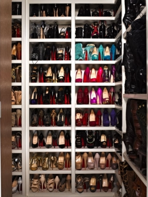 Inside the Kardashian Sisters Closets