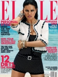 Victoria's Secret Models Cover Elle October 2011