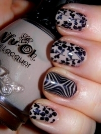 Stylish Patterned Nail Designs