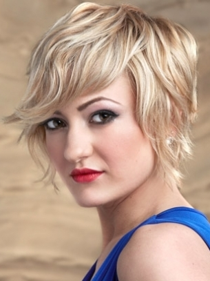 Short Layered Hairstyle