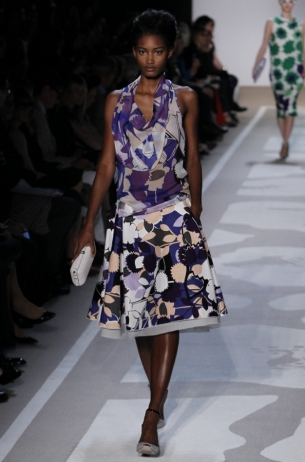 Diane von Furstenberg Spring/Summer 2012- New York Fashion Week