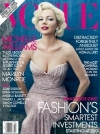 Michelle Williams Covers Vogue as Marilyn Monroe