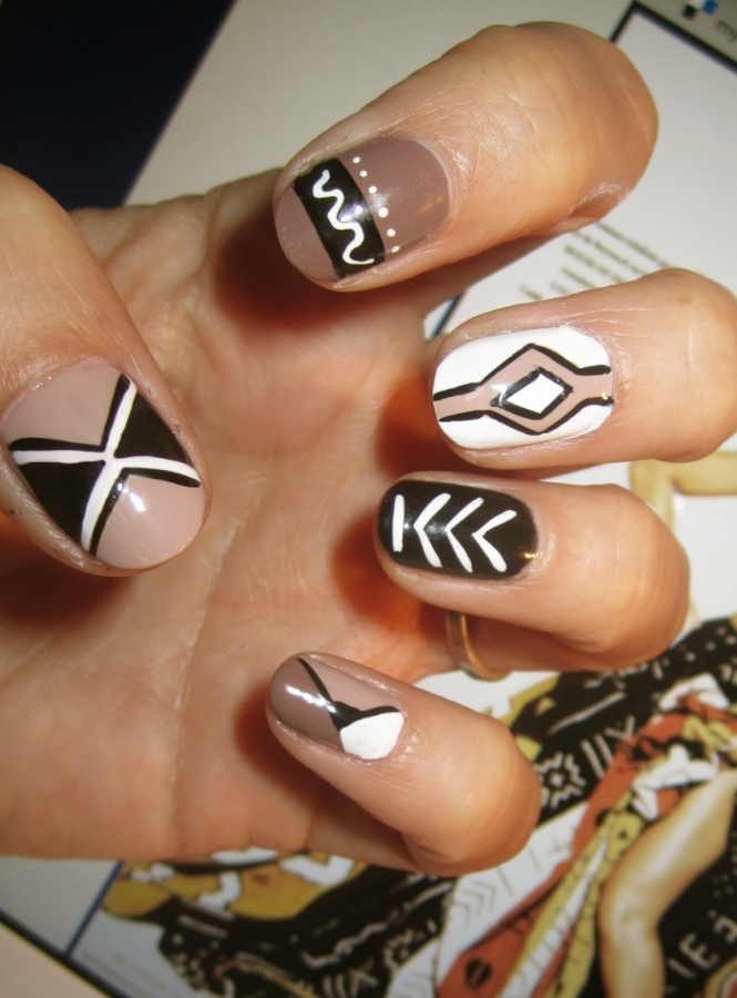 Loveliest fall nail art ideas 2011 tribal nail art tribal nail art prinsesfo Image collections