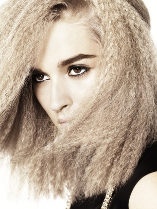 Crimped Hairstyle
