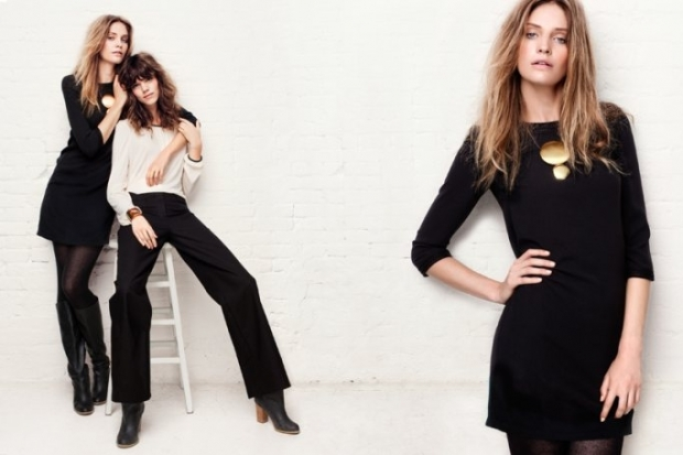 Freja Beha Erichsen and Heidi Mount for H&M New Silhouettes Collection