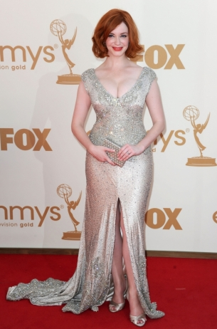 Christina Hendricks 2011 Emmy Awards dress