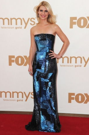 Claire Danes 2011 Emmy Awards dress