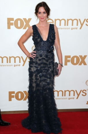Emily Blunt 2011 Emmy Awards dress