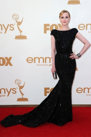 Evan Rachel Wood 2011 Emmy Awards dress