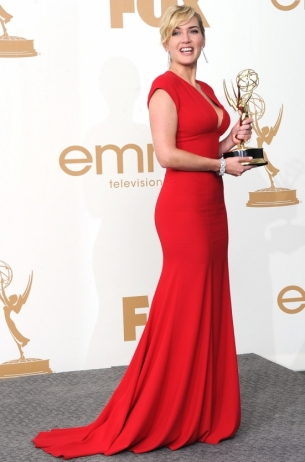 Kate Winslet 2011 Emmy Awards dress
