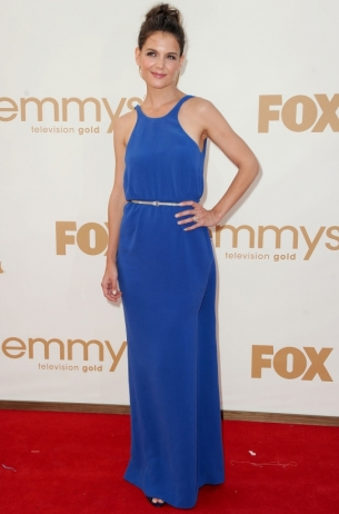 Katie Holmes 2011 Emmy Awards dress