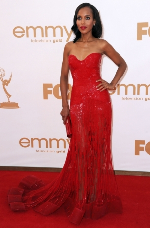 Kerry Washington 2011 Emmy Awards dress