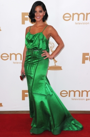 Olivia Munn 2011 Emmy Awards dress