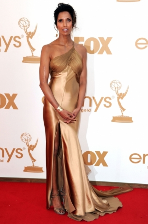 Padma Lakshmi 2011 Emmy Awards dress