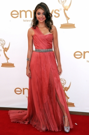 Sarah Hyland dress 2011 Emmy Awards