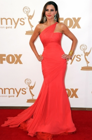 Sofia Vergara 2011 Emmy Awards dress
