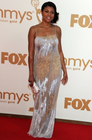 Taraji P Henson 2011 Emmy Awards dress