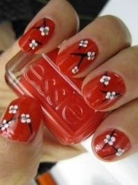 Simple Colorful Nail Art Ideas