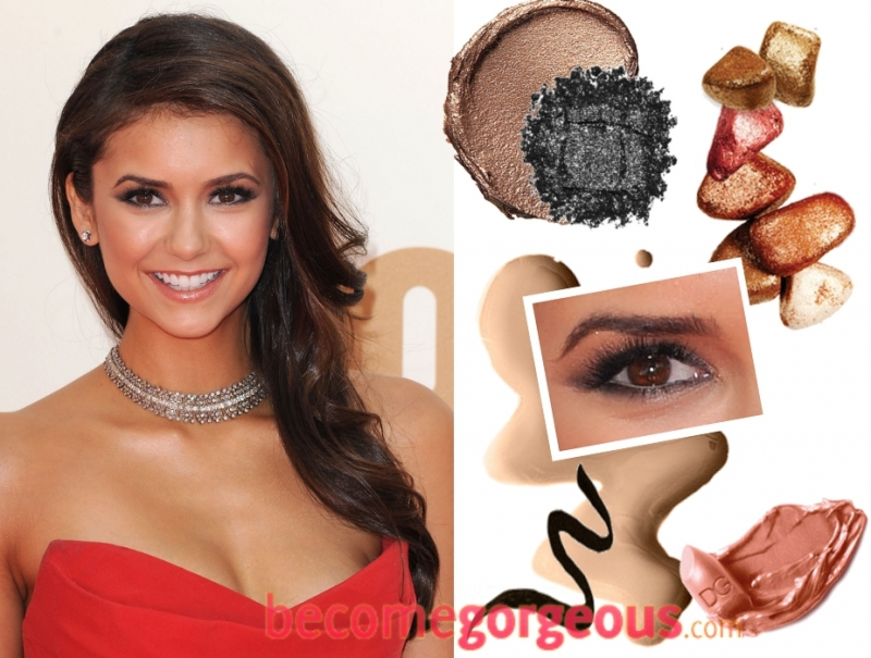 Perfect pouts glamorous eye makeup delicately sculpted featuresand
