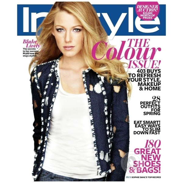 Blake Lively Talks Men and Fashion with InStyle Australia October 2011