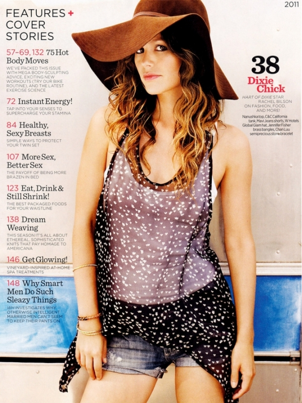 Rachel Bilson Diet Womens Health Mag