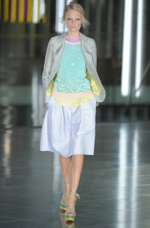 Jonathan Saunders Spring 2012 - London Fashion Week