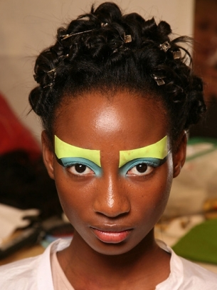 Runway Inspired Halloween Makeup Ideas