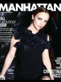 Christina Ricci Covers 'Manhattan' Magazine September/October 2011