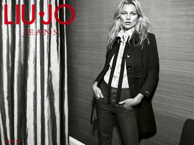 Kate Moss for Liu Jo Fall/Winter 2011-2012 Ad Campaign