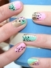 Easy Animal Print Nail Art