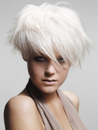 Asymmetrical Short Hairstyle Ideas