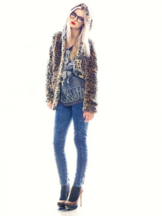 Bershka September 2011 Lookbook
