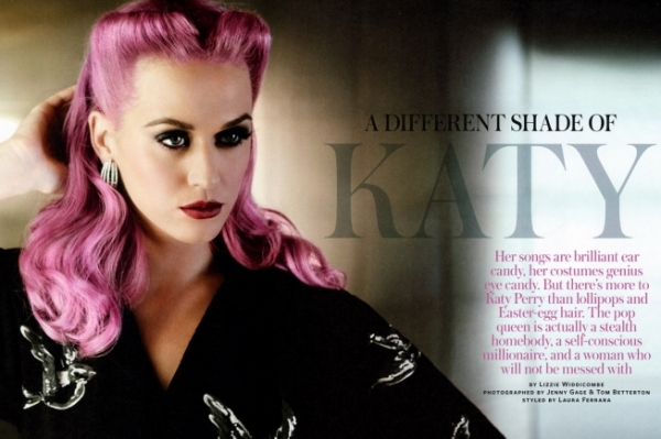 Katy Perry InStyle 2011 Pictures