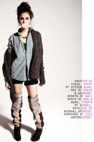 Nina Dobrev for Nylon September 2011