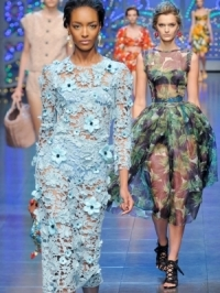 Dolce & Gabbana Spring 2012 - Milan Fashion Week
