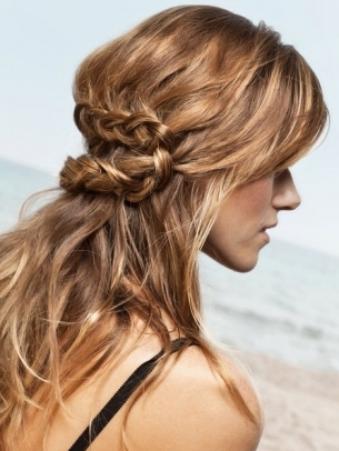 Braided Updo Hair Style