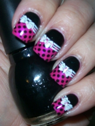Easy Nail Art Designs for Winter 2011