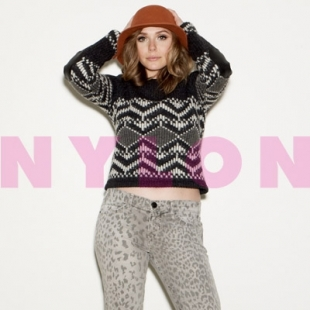 Elizabeth Olsen Covers Nylon October 2011