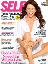 Lauren Graham Trains for SELF October 2011 Issue