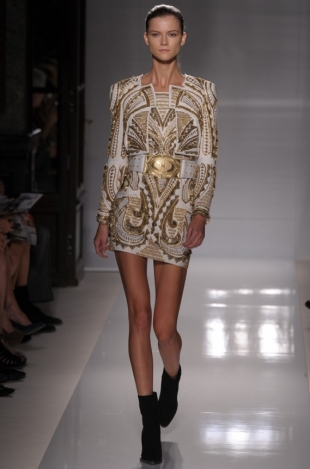Balmain Spring 2012 - Paris Fashion Week