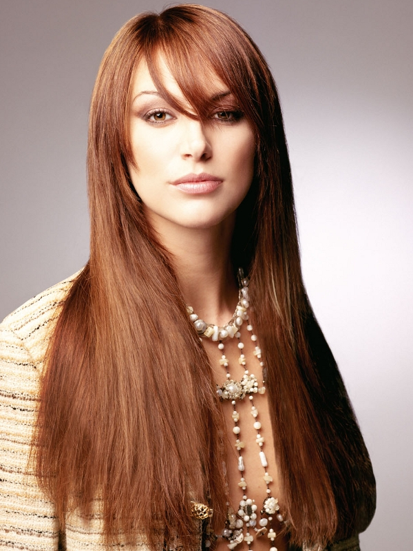Super-Long Hair Styles 2012|