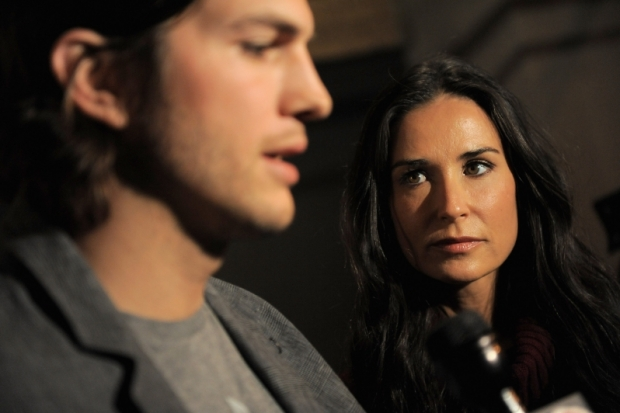 Ashton Kutcher and Demi Moore Divorce Rumors