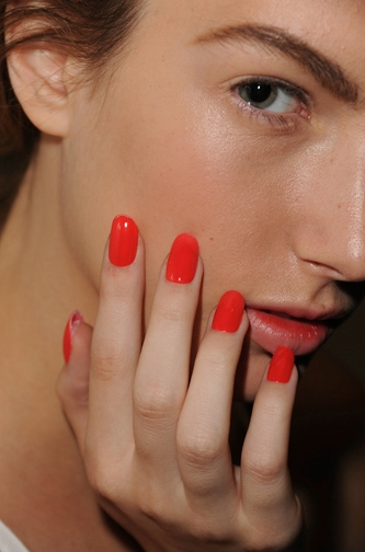 Runway Nail Color Trends 2012