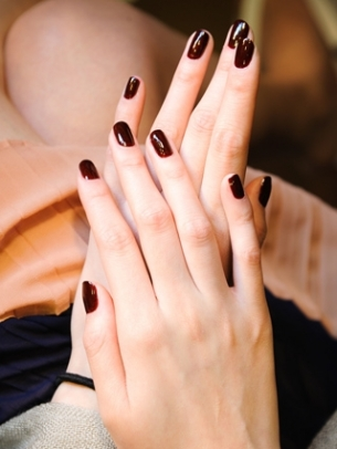 Wine Nail Color